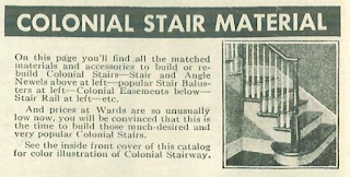 wards building material catalog colonial stair