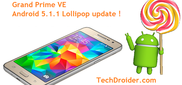 How to Install Official Android 5.1.1 Lollipop in Samsung Galaxy Grand Prime VE