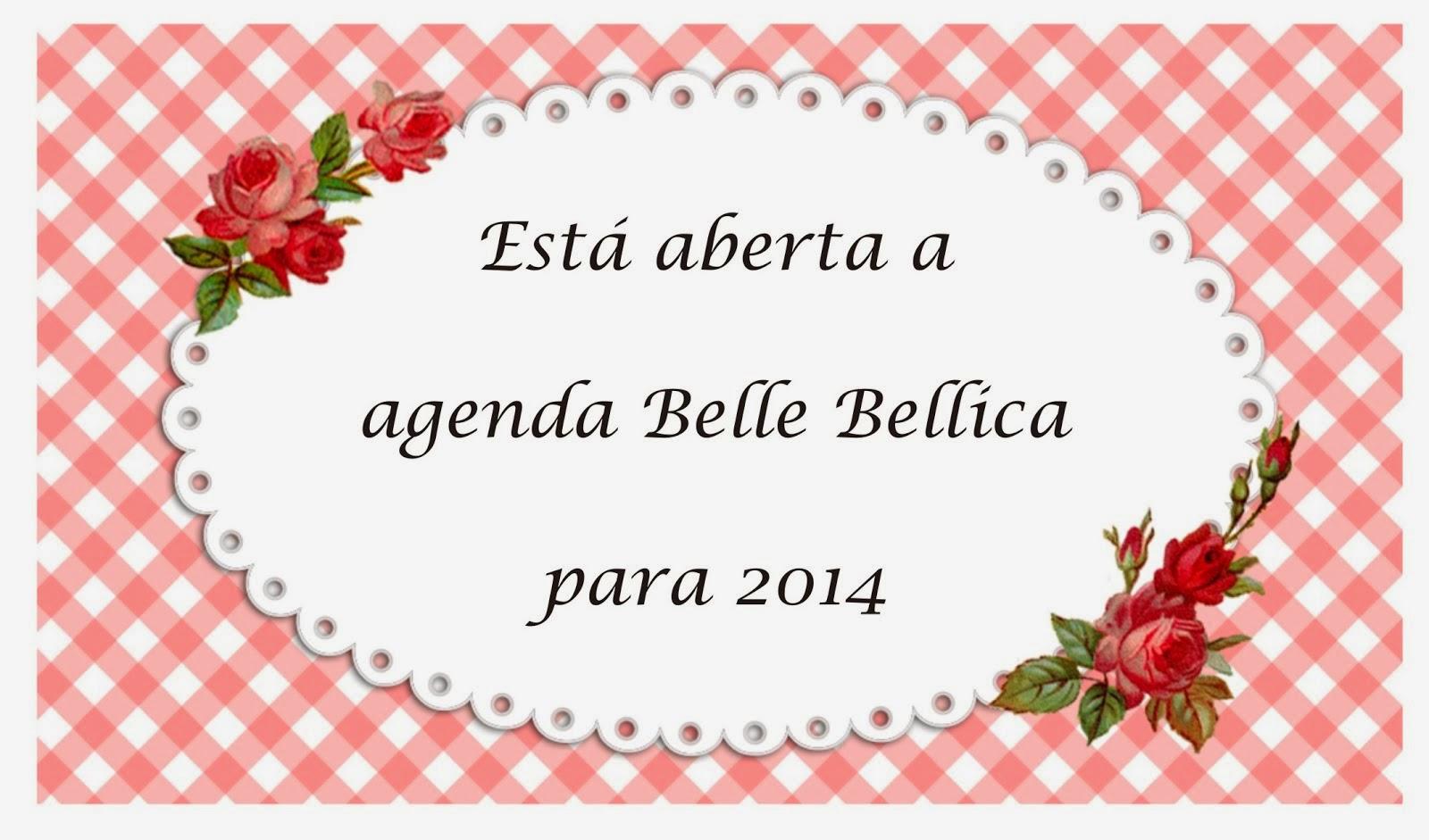 Para agendar o seu pedido, entre em contato por email bellebellica@gmail.com