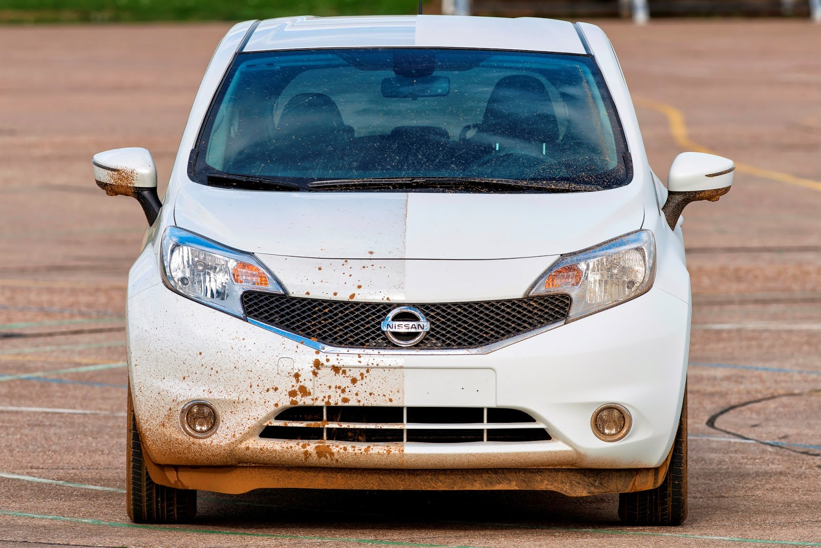 Nissan develops first self-cleaning car prototype