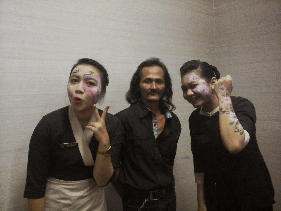 dahsyatbody painting indonesia