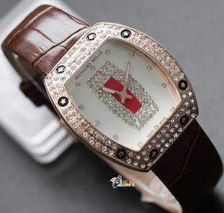 Richard Mille Syahrini Full Diamond Leather (D_3.5cm) Harga : Rp 185.000,-