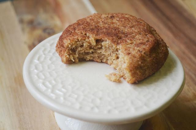 Gluten-Free Pumpkin Snickerdoodle Cookies