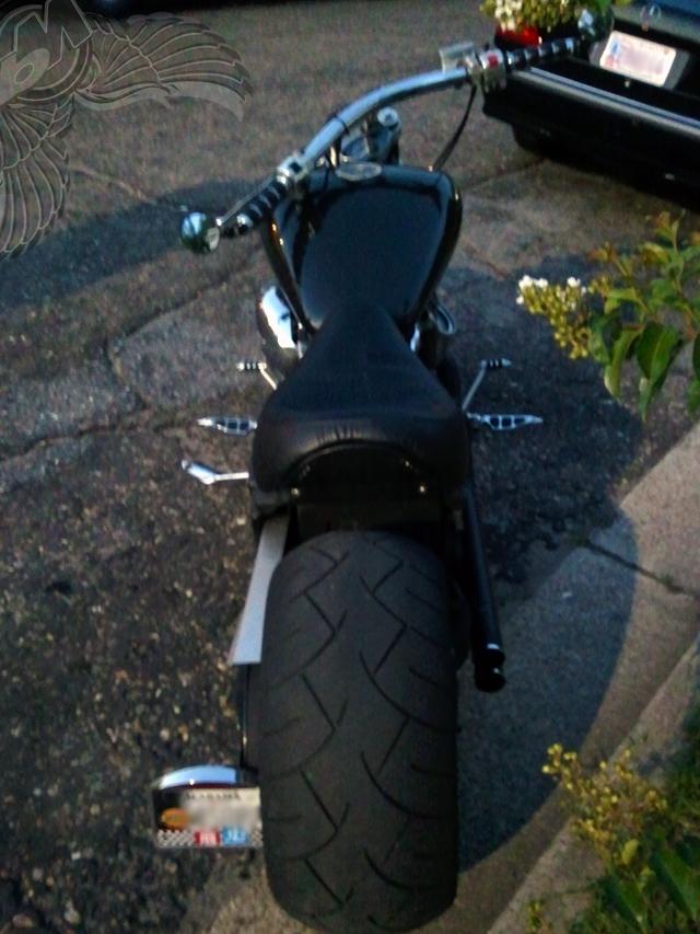 custom yamaha warrior fat tire
