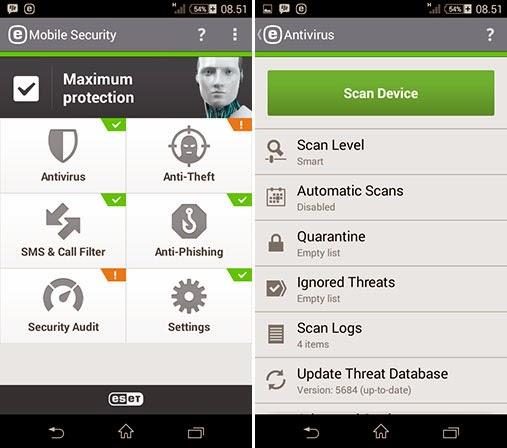 ESET Mobile Security Premium Apk