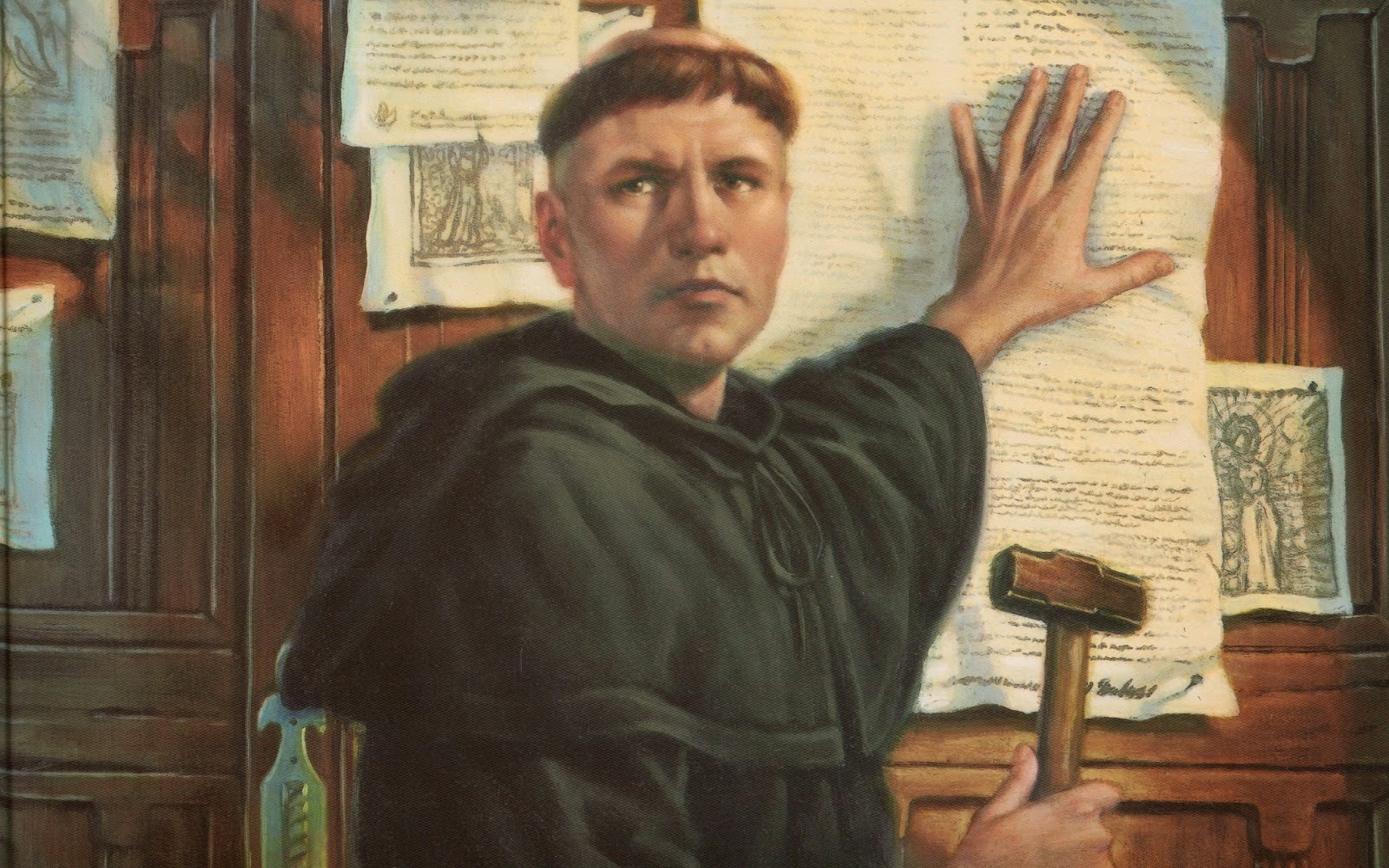 the reformation martin luther and the Although these ideas had been advanced before, martin luther codified them at  a moment in history ripe for religious reformation the catholic church was ever .