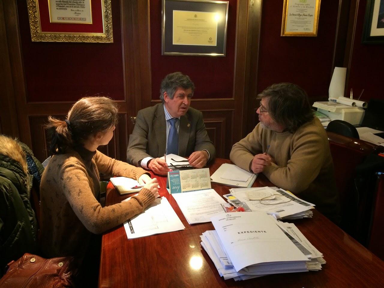 Medios de comunicación portugueses se interesan por los atractivos turísticos de Béjar