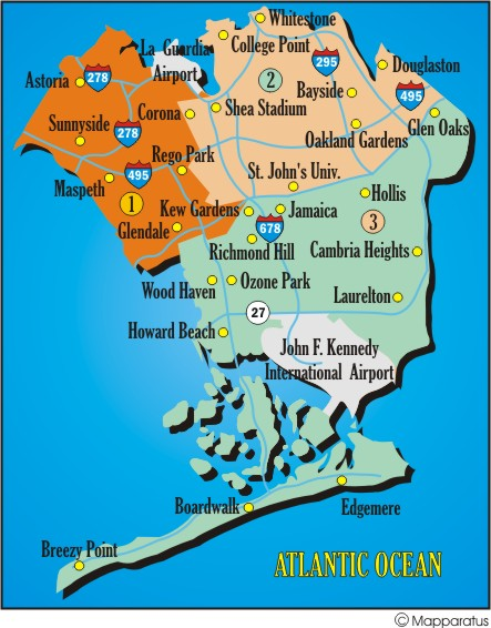 Guliz Sahdur (Queens, NY): Queens, NY Map on