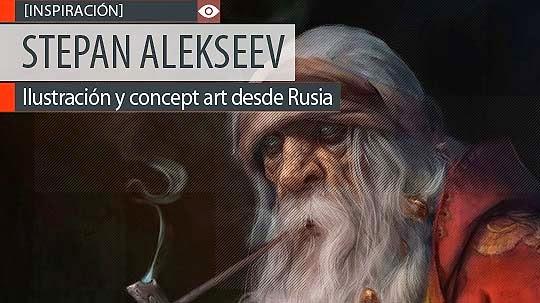 Ilustración y concept art de STEPAN ALEKSEEV