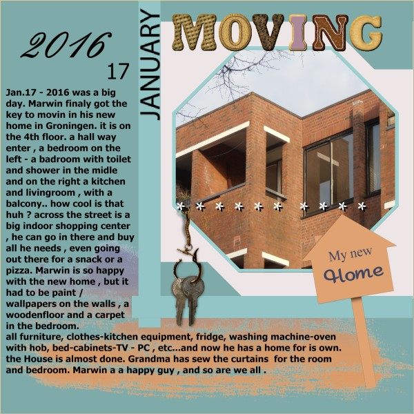 Feb. -Jan.2016 - lo 1 - Moving to my new home