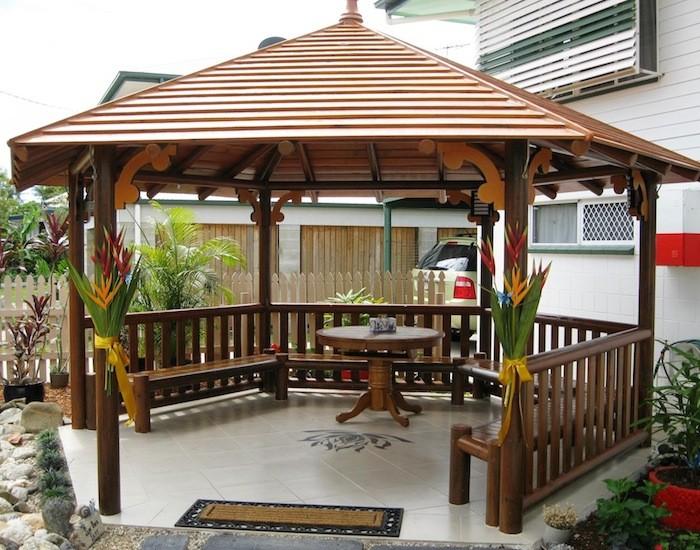 Gazebo rumah Model Ukiran jepara BJFG-013