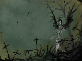 Undead Dark Gothic Wallpaper