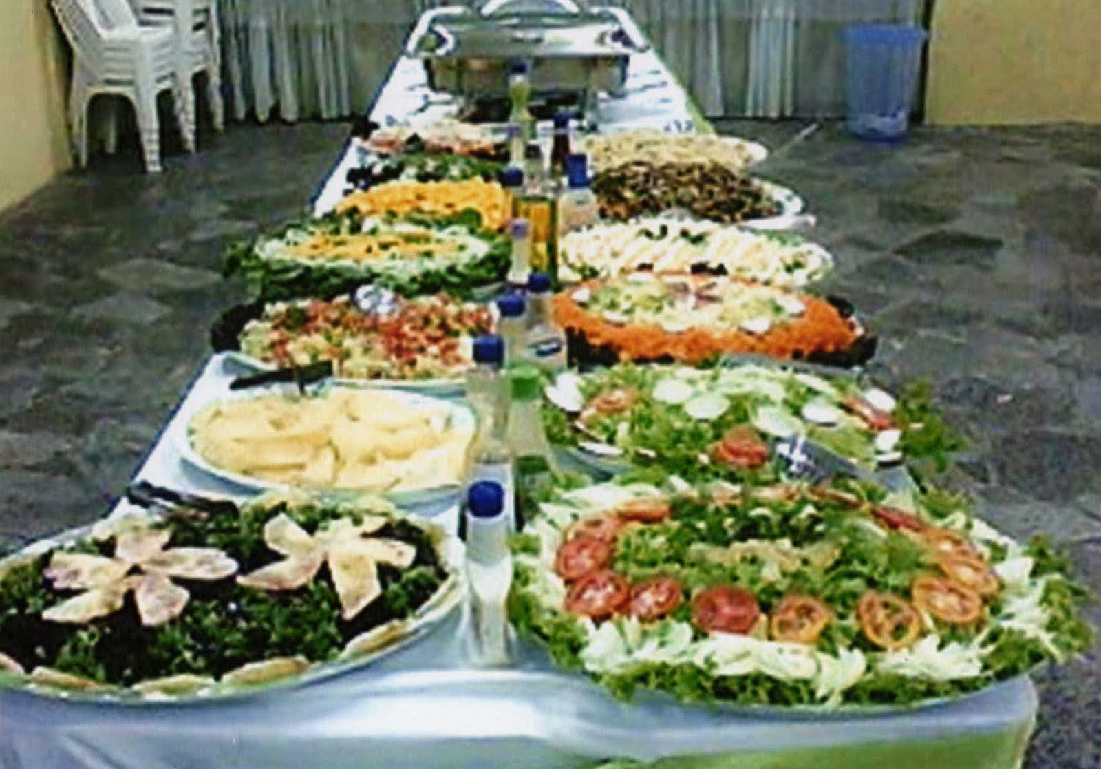 Prato chic mesa de salada variadas for Mesa salada para cumple