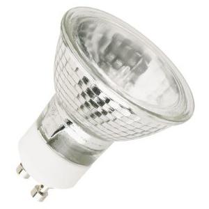 lampu halogen biasanya memiliki reflektor (cermin dibelakangnya) untuk memperkuat cahaya yang keluar. Fittingnya biasanya khusus, namun saat ini ada pula yang dengan jenis fitting biasa.