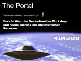 COBRA: Bericht über den Seelenfamilien Workshop und Aktualisierung der planetarischen Situation
