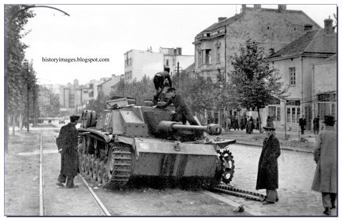 Yugoslavian civilians and soviet soldiers inspect for How many german tanks were destroyed in ww2