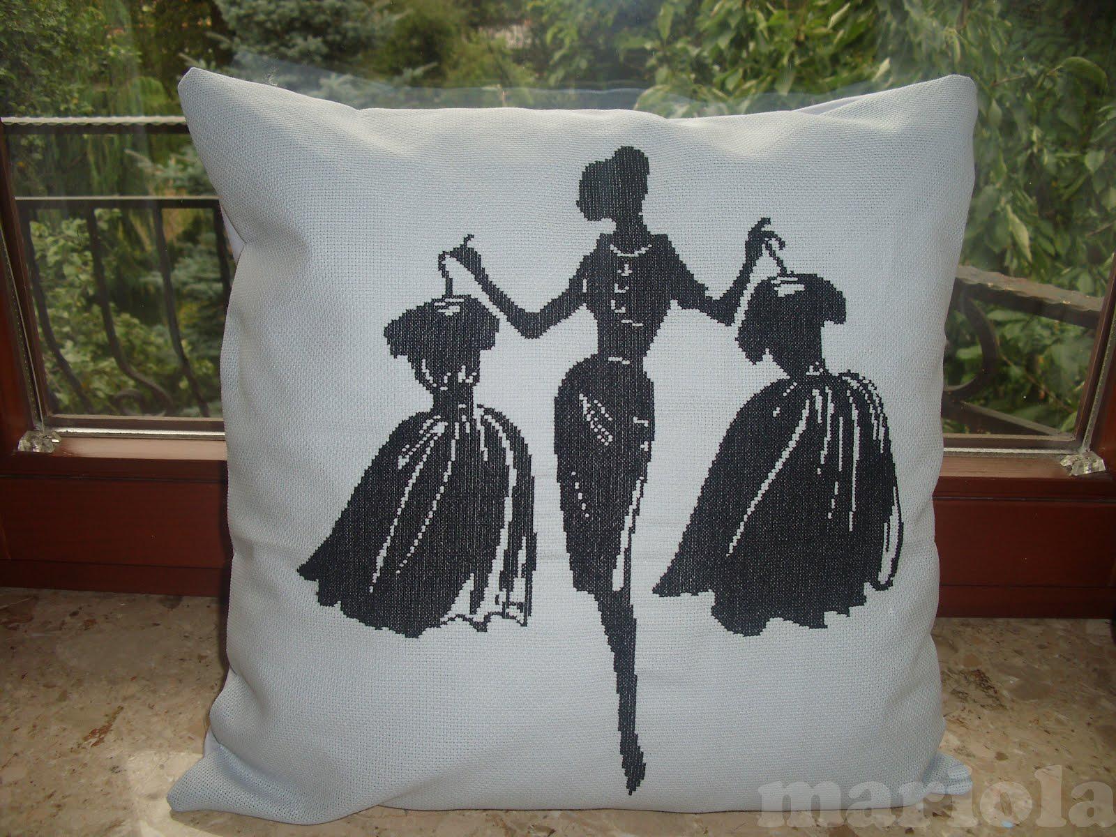 Poduszka z elegantką