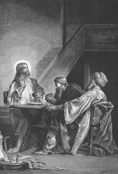 Disciples at Emmaus - Alexandre Bida