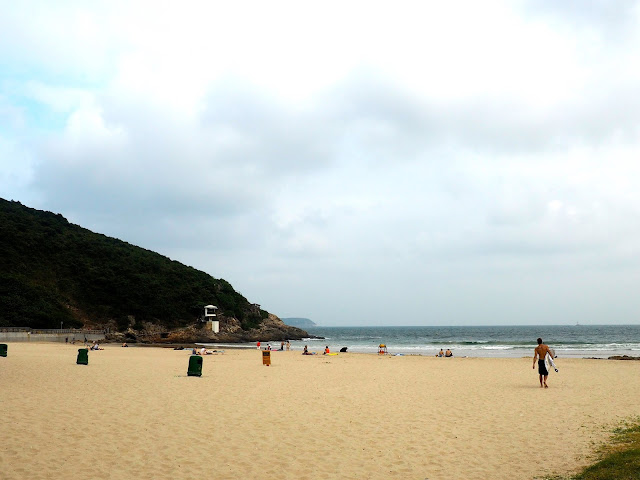 Big Wave Bay Beach, Hong Kong Island