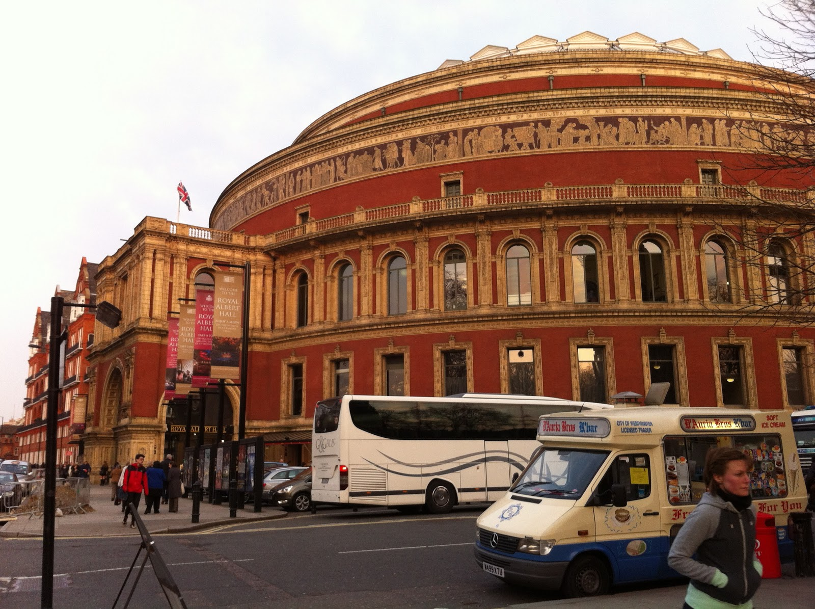 charis alexandra training alfie boe at the albert hall