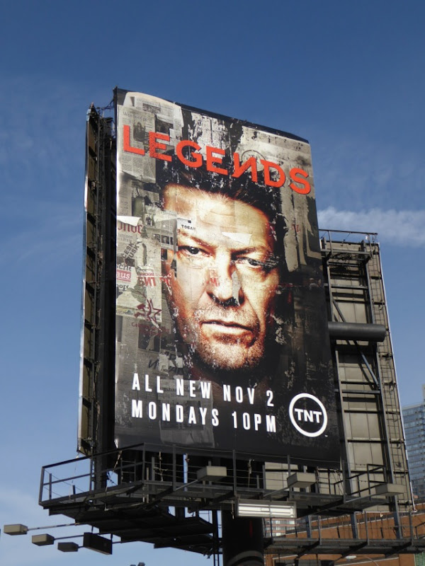 Legends season 2 billboard New York