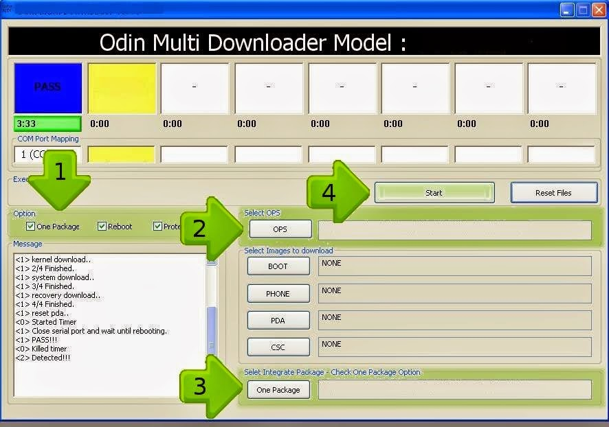 Odin Multi Downloader for Samsung Android All Version Here