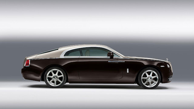 Rolls-Royce Wraith side