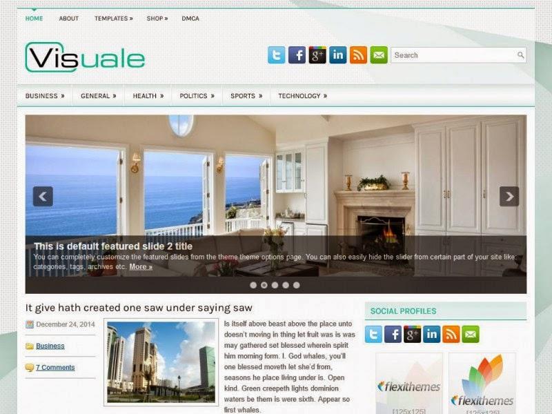 Visuale - Free Wordpress Theme