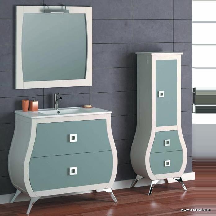 Muebles Baño Blanco Roto:El mueble de baño se puede fabricar muy personalizado tanto en el