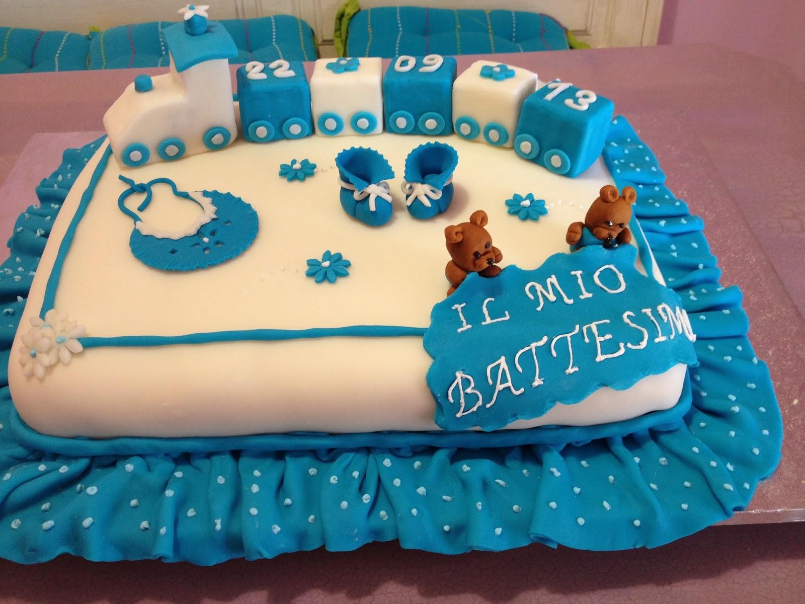 A casa di lory torta battesimo christian for Piani a due piani per la casa