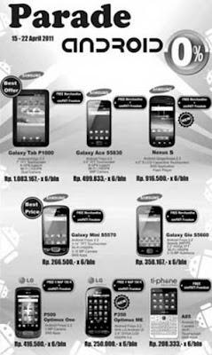 Harga Promo Android Telesindo Shop