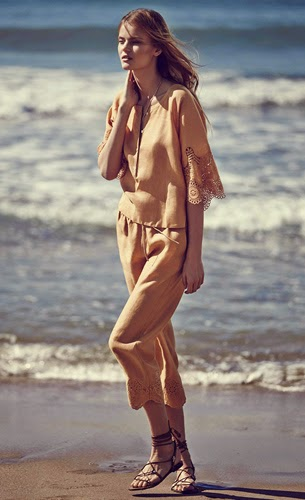 Massimo Dutti mujer ropa verano sandalias