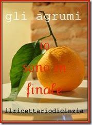 """Finalista del contest """"Gli Agrumi"""""""