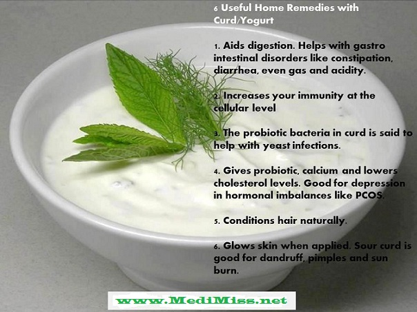 Home Remedies with Yogurt