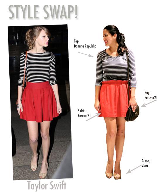 Style Swap  Taylor SwiftTaylor Swift Fashion Style 2012