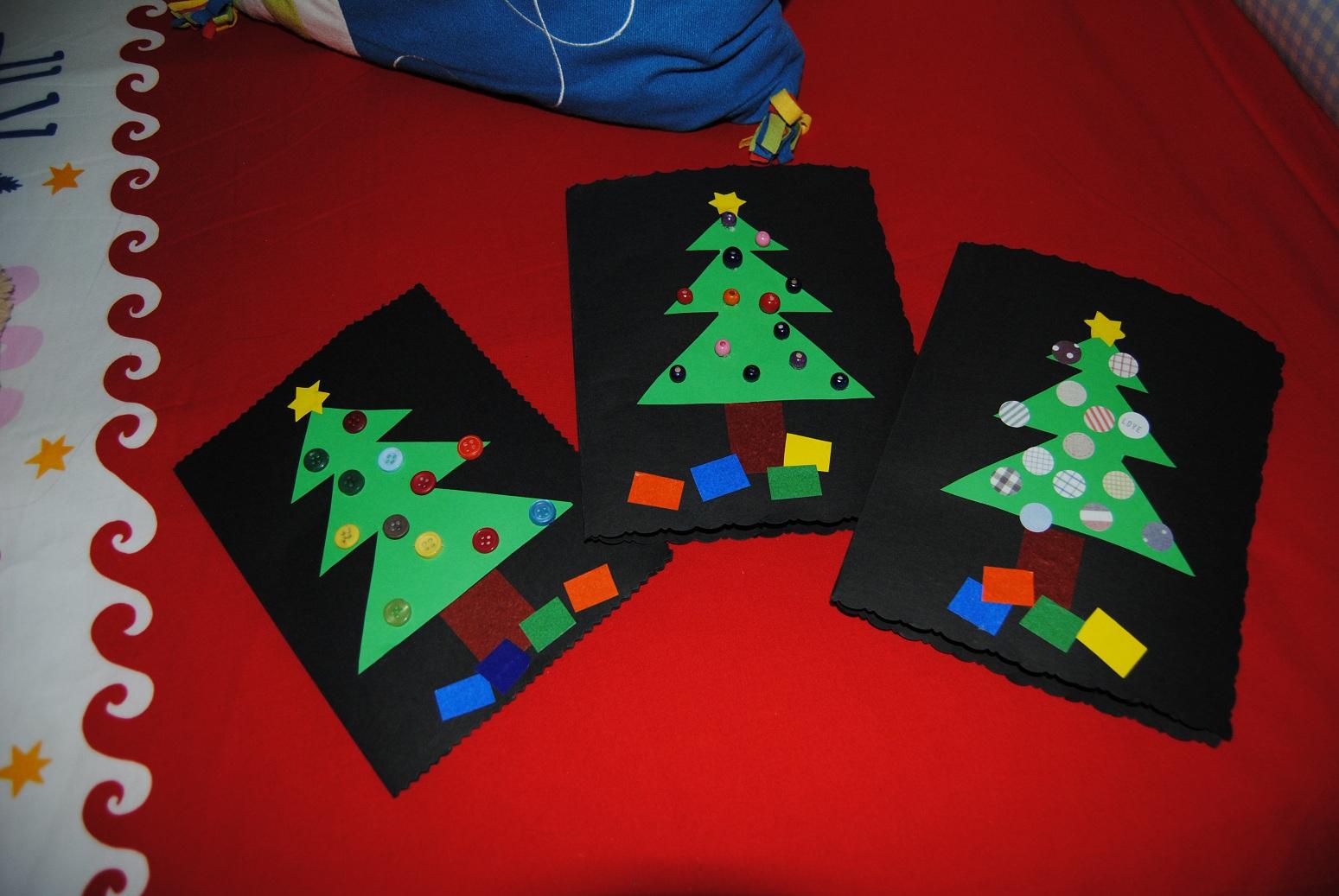 Trastadas de mam felicitaciones navide as - Manualidades para navidades ...