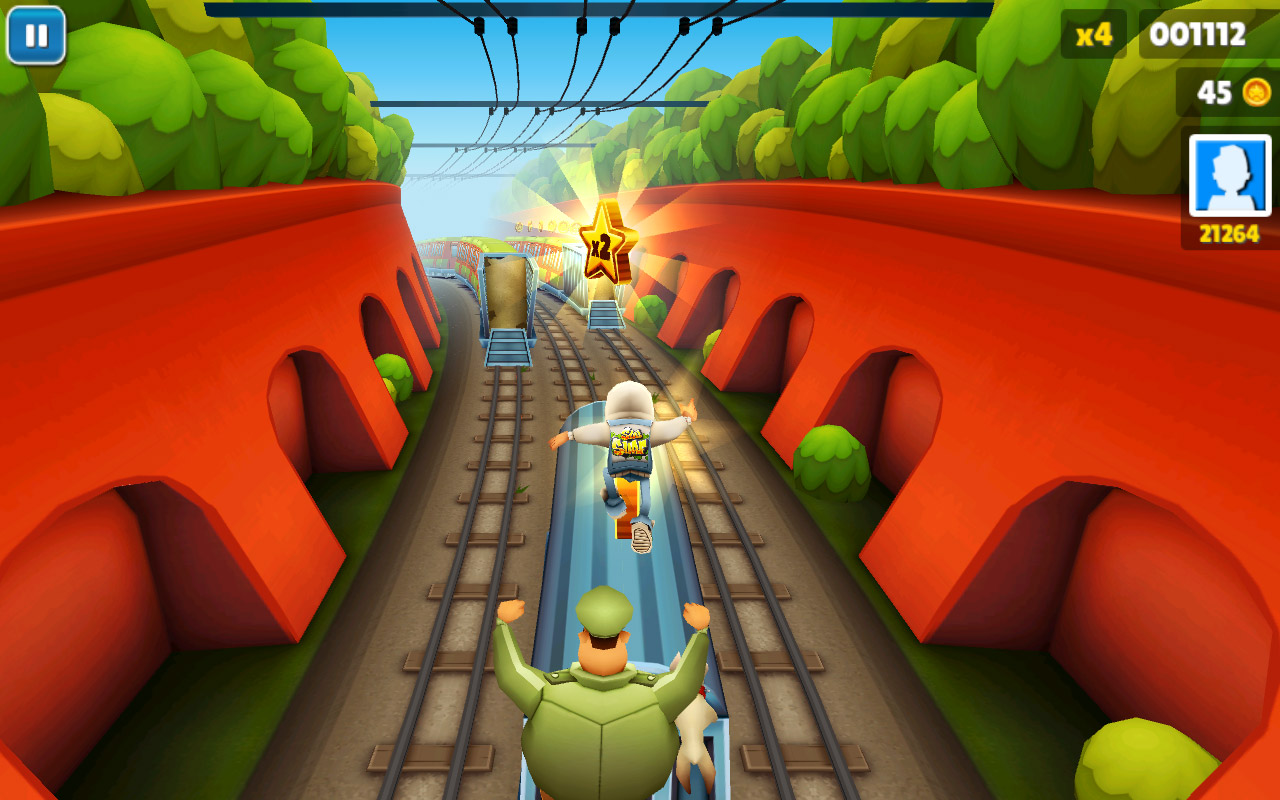 online games subway surfer