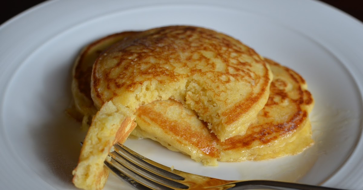 Pancakes With Boxed Cake Mix