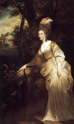 Portrait of Georgiana, Duchess of Devonshire by Joshua Reynolds