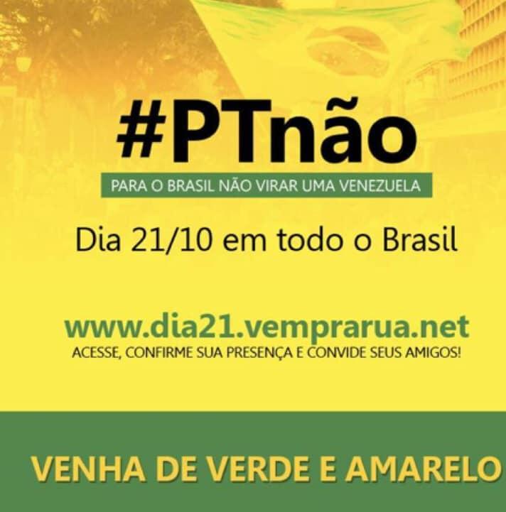 21 de outubro: Brasil