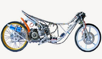 Mod Motor Drag Resmi 58an