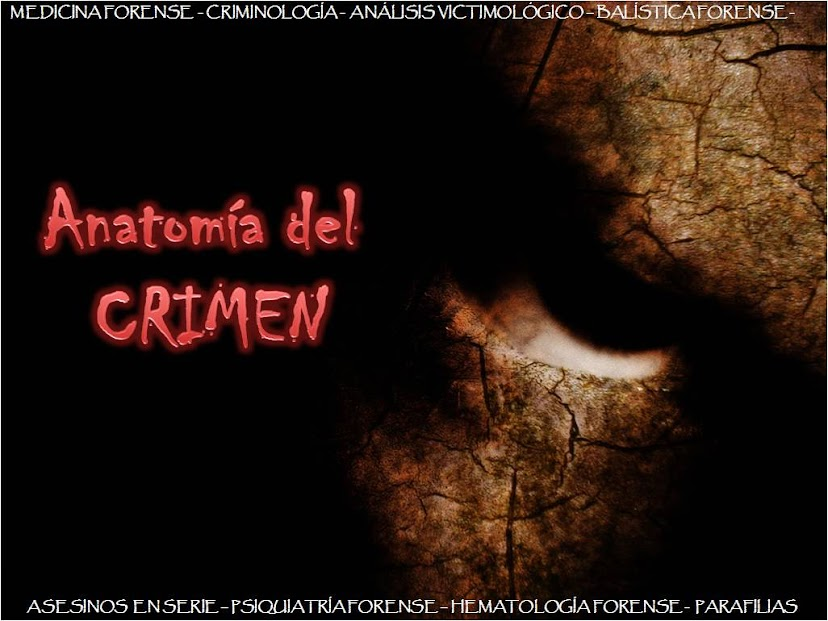 ANATOMIA DEL CRIMEN