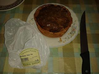 Farndon Fields Huntsman Chicken and Pork Pie