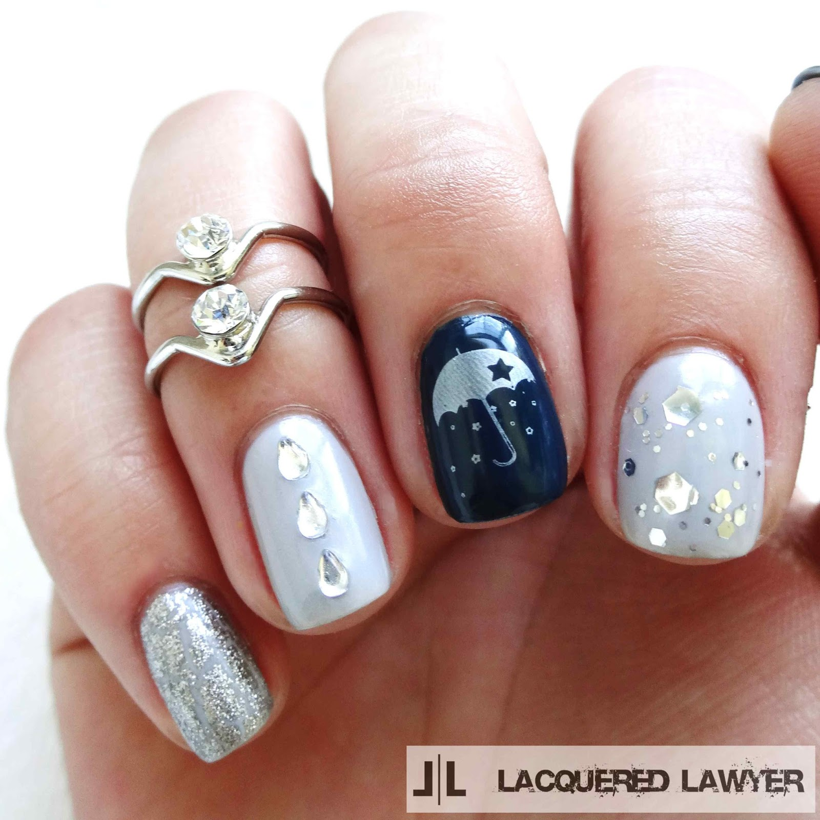 Nail Ideas For April: Nail Art Blog: April Showers