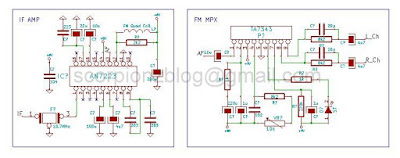 IF and MPX circuit