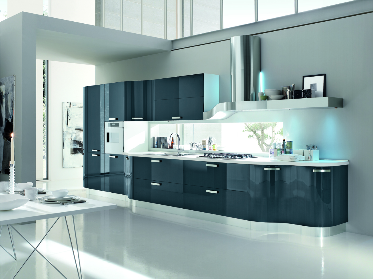 Cucine Moderne Gicinque Cucina Moderna Kristal Di