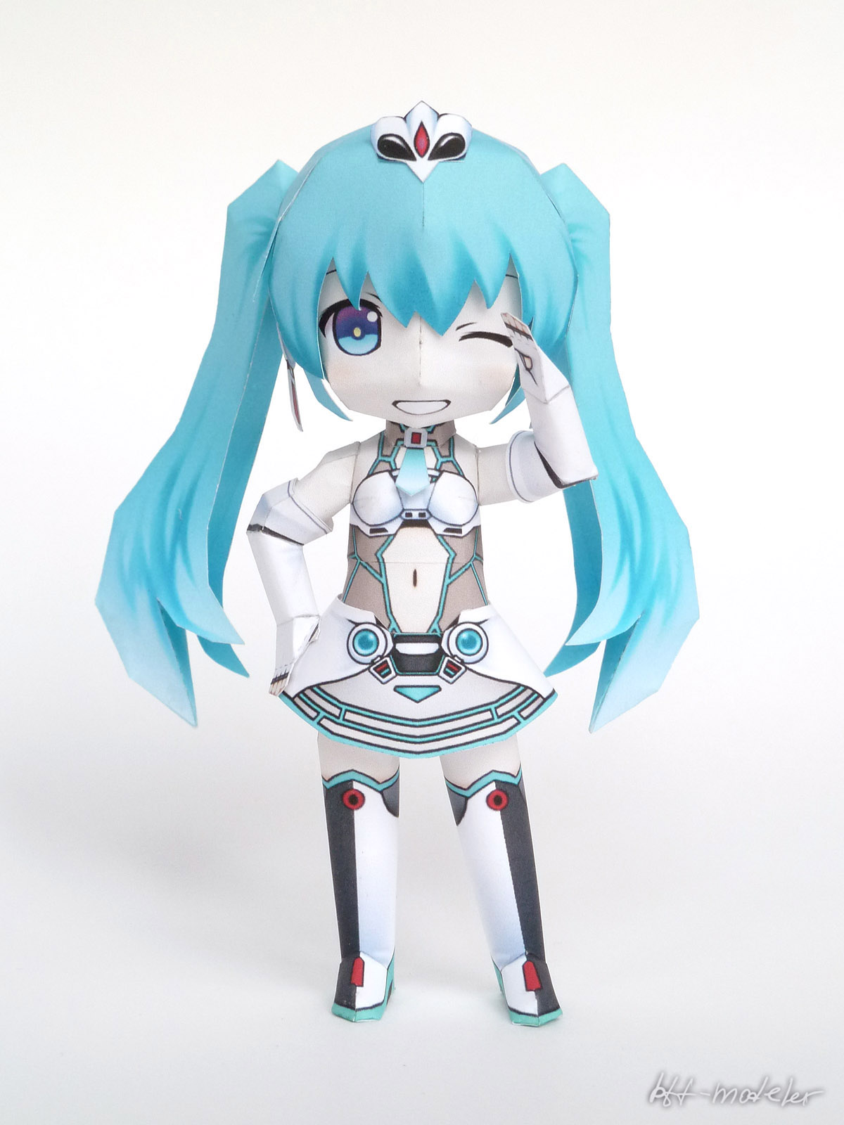 Racing Miku 2012 Papercraft