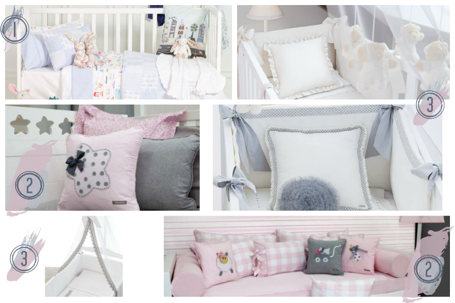 Habitan2 las mejores opciones para dormitorios de beb s iii - Edredon cuna zara home ...