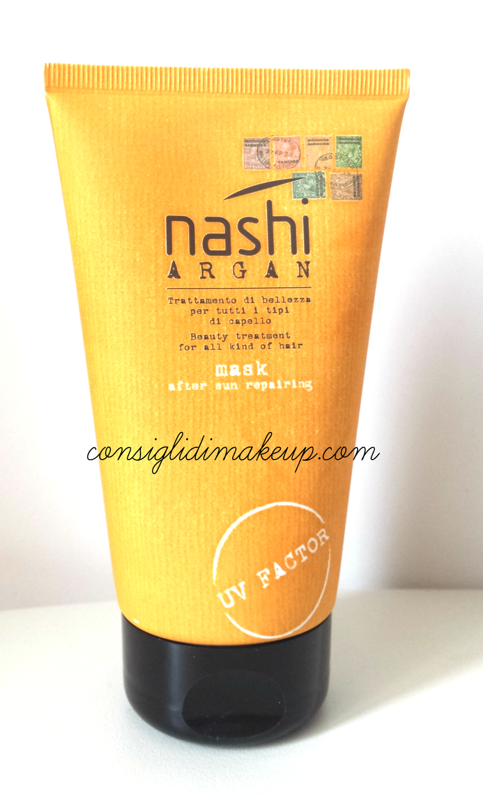 Review: After Sun Repairing Mask - Nashi Argan