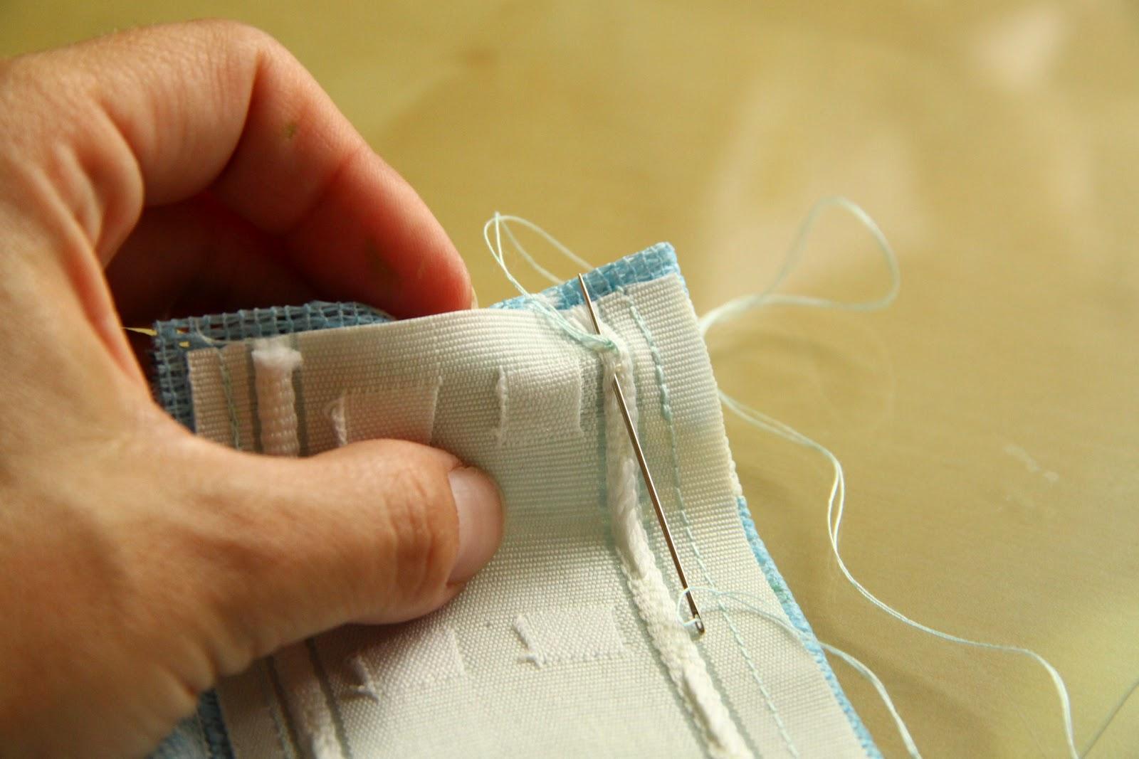 De tijera rapida como hacer unas cortinas f ciles y sin for Como poner ganchos de cortinas